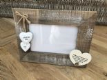 Shabby personalised Chic Photo Frame Auntie Aunty Great Aunt Gift  Present - 253402794660